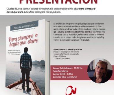 Presentazione libro: Para siempre o hasta que dure