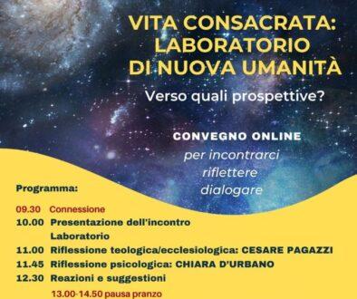 Vita Consacrata: Laboratorio di nuova umanità